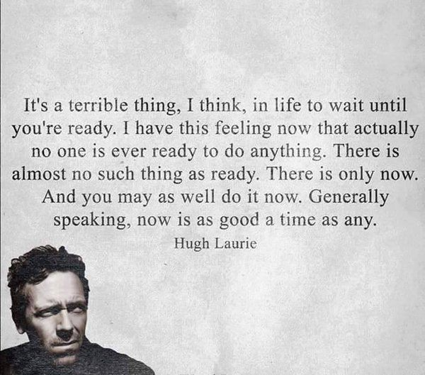Hugh Laurie now quote